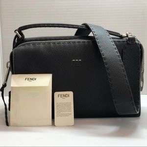 Fendi Black Lei Selleria.